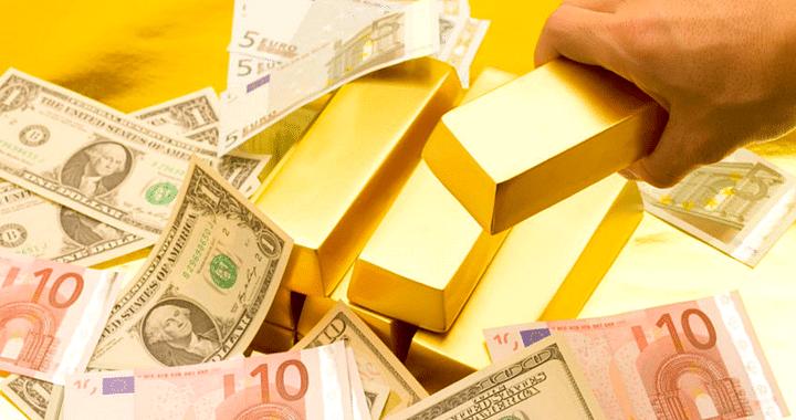 Gold Euro Dollar 2